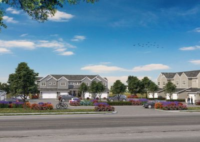 Hanover Townhomes by Wheeler Development Group