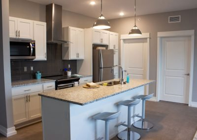 Kitchen in Heritage Place Apartments