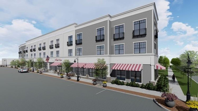 Hotel Rose Rockford Rendering